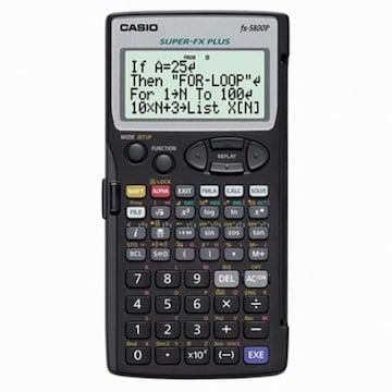 카시오 FX-5800P(일반구매)