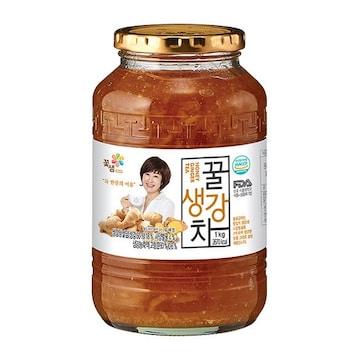 꽃샘식품 꿀생강차 1kg(1개)