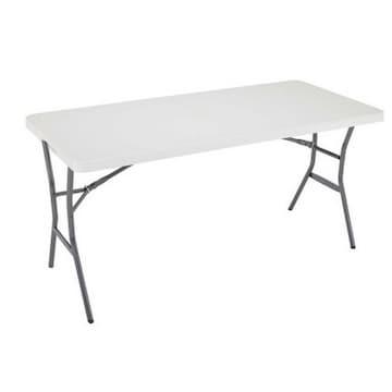 라이프타임  플라스틱 대형 접이식 테이블 (의자별도)