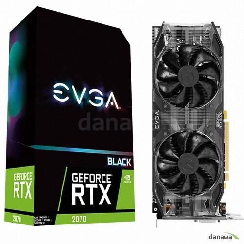 EVGA 지포스 RTX 2070 Black GAMING D6 8GB_이미지
