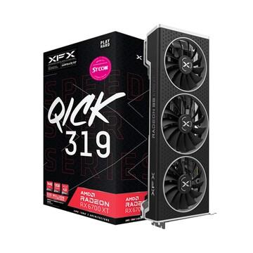 XFX 라데온 RX 6700 XT QICK 319 BLACK D6 12GB