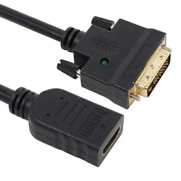 디옵텍 justlink JUSTLINK-HFDMC HDMI to DVI 변환 젠더_이미지