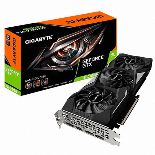 GIGABYTE 지포스 GTX 1660 SUPER Gaming OC D6 6GB_이미지
