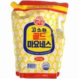 오뚜기 고소한 골드 마요네즈 3.2kg (스파우트팩)  (1개)
