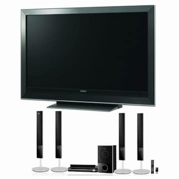SONY 브라비아 DAV-DZ850KW 풀HD 홈시어터 + SONY 디지털TV (KDL-52W3500)_이미지