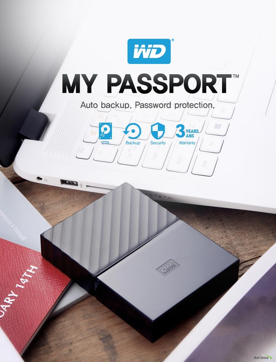 WDMY PASSPORTAuto BAckup Password protection