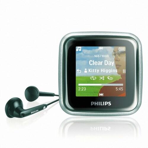 필립스 고기어 Video Player 비디오플레이어 SA2925 (2GB)_이미지
