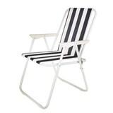[50%▼]K4CAMP 원터치 줄무늬 의자