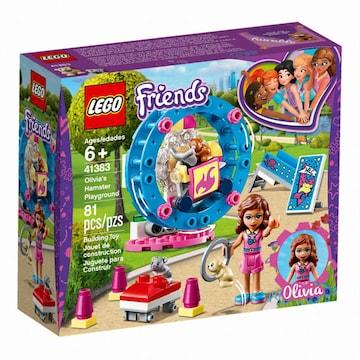 레고  프렌즈 올리비아의 햄스터 놀이터 (41383) (정품)