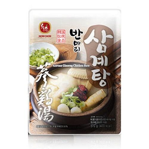 교동식품 하우촌 반마리 삼계탕 570g (1개)_이미지