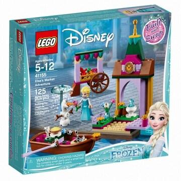 레고 디즈니 겨울왕국 엘사와 올라프의 시장 구경 (41155) (정품)