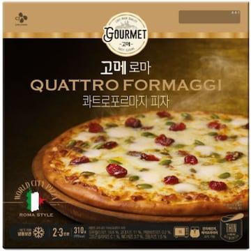 CJ제일제당 고메 로마 콰트로 포르마지 피자 310g