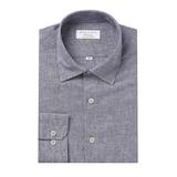 클리포드 카운테스마라 마혼방 솔리드 일반핏 반소매 셔츠 CDCQ2B1154N1_이미지
