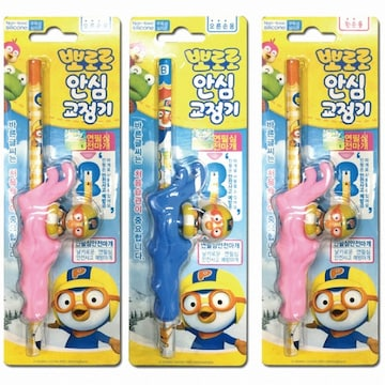 태양생활건강 뽀로로 안심 연필 교정기