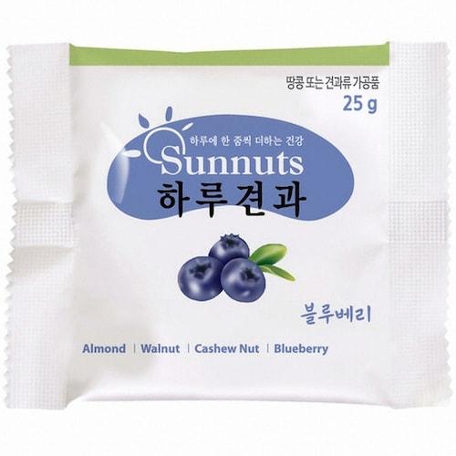 선명농수산 썬넛트 하루견과 블루베리 25g (50개)_이미지