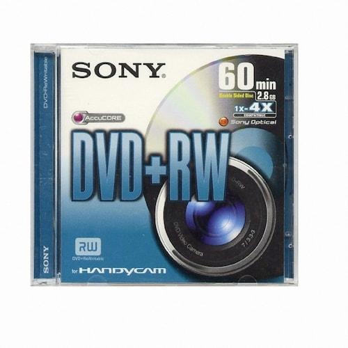 SONY DVD+RW 2.8GB 4x 1장_이미지