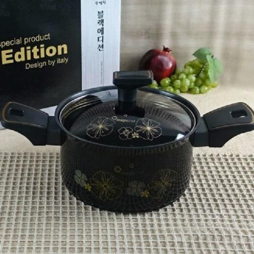 매직쉐프 블랙 에디션 양수냄비 (24cm)_이미지