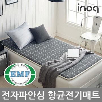 이노크아든  보드라이트 블랙 EMF 안심 항균 온열매트 (1인용, 100x200cm, IA-EP2001C)