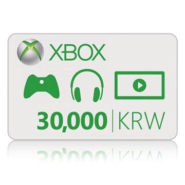 Microsoft XBOX Live 기프트 카드 (XBOX ONE)(3만원)