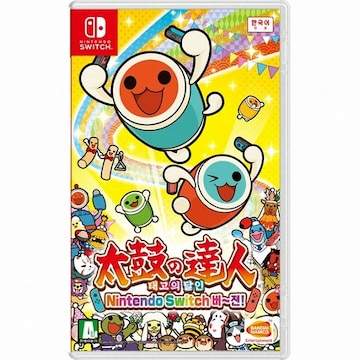 BANDAI-NAMCO Games  태고의 달인 Nintendo Switch 버~전! SWITCH (한글판,일반판)