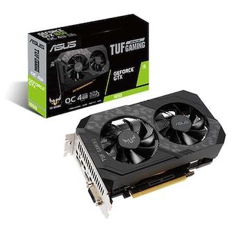 ASUS TUF Gaming 지포스 GTX 1650 O4G P D6 4GB