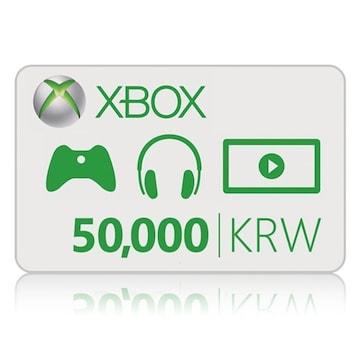 Microsoft XBOX Live 기프트 카드 (XBOX ONE)(5만원)