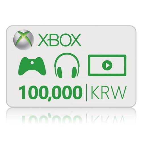 Microsoft XBOX Live 기프트 카드 (XBOX ONE) (10만원)