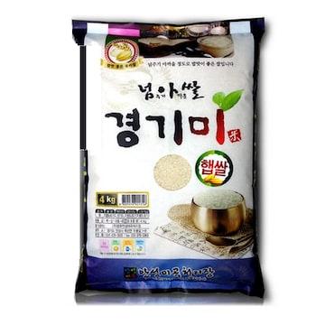 현대농산  넘아쌀 경기미 추청 4kg (1개)