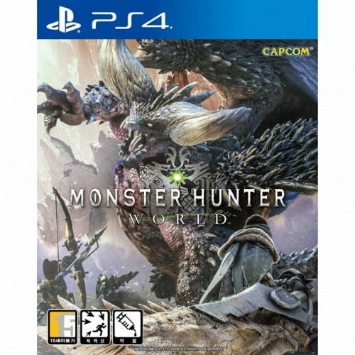 몬스터 헌터 월드 PS4 한글판,일반판_이미지