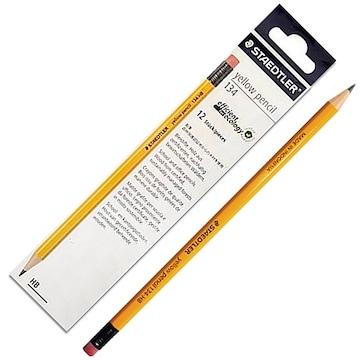 스테들러 옐로우 연필 12본 세트 134(1개)