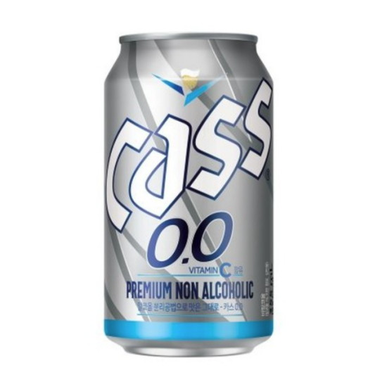 하이트진로음료 카스 0.0 프리미엄 논 알코올 355ml(24개)