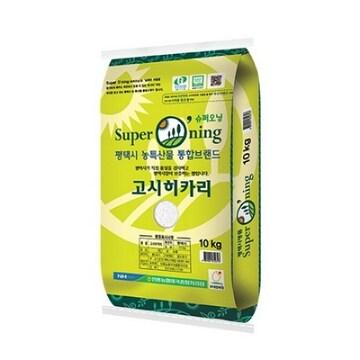 슈퍼오닝 고시히카리 20kg (21년 햅쌀)