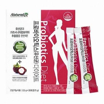 네추럴라이즈  프로바이오틱스 유산균 다이어트 2.5g 30포 (1개)