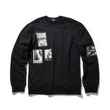 코오롱인더스트리 커스텀멜로우 artwork round sweatshirts CQTAW17671BKX_이미지