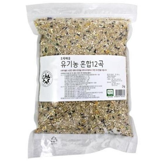 초록마을 유기농 혼합12곡 2kg(1개)