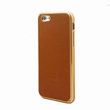 아트박스 아이폰 6 플러스/6S 플러스 알루미늄 케이스 Back Cover - Camel_이미지