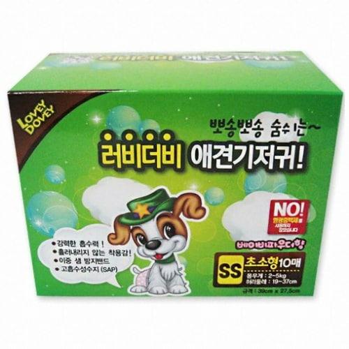 펫스토리 러비더비 기저귀 SS 10매 (2개)_이미지