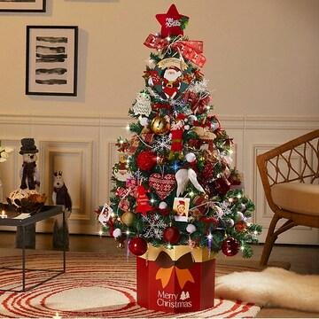 하우쎈스 크리스마스트리 풀세트 와인(140cm)