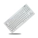 MK87 화이트 게이밍 기계식키보드 유선키보드