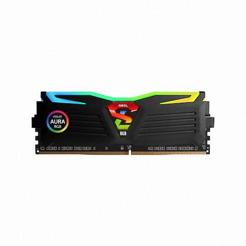 GeIL DDR4 16G PC4-25600 CL14 SUPER LUCE RGB Sync 블랙 (8Gx2)_이미지