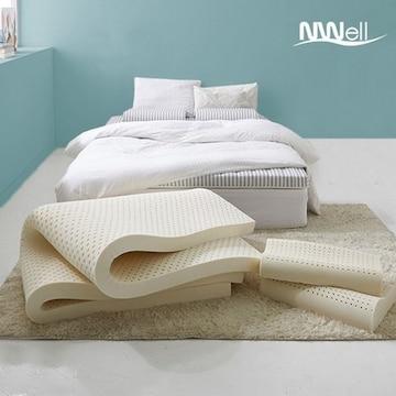 신우팜앤라텍스  느웰플러스 천연라텍스 매트리스 7.5cm+베개 (킹 K)