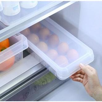 창신리빙 냉장고 스텝 에그트레이 1호 14구_이미지
