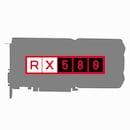 라데온 RX 580 D5 4GB (중고)