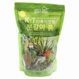 KT무역 정한그린 다육이전용 분갈이 흙  (2.5L)