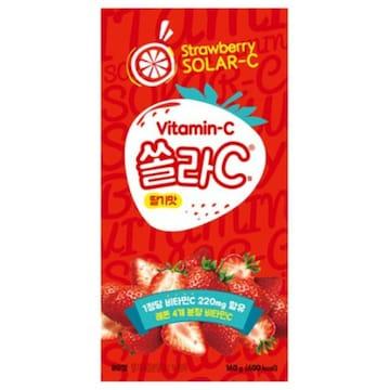 고려은단 쏠라C 딸기맛 80정 (1개)