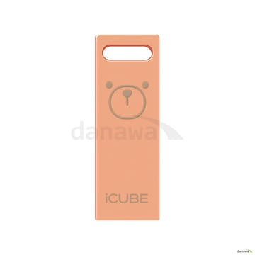 아트박스 iCUBE 메탈 로즈골드 USB (8GB)_이미지