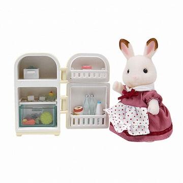 EPOCH 실바니안 패밀리 초콜릿 토끼 엄마와 냉장고 (2202)