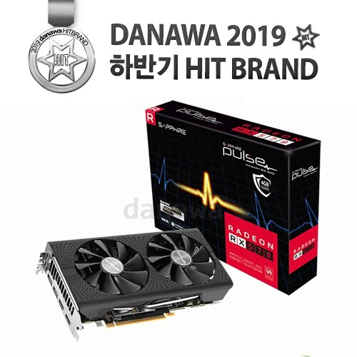SAPPHIRE 라데온 RX 570 PULSE Optimized OC D5 4GB Dual-X_이미지