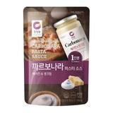 대상 청정원 베이컨&생크림 까르보나라 파스타 소스 150g  (1개)