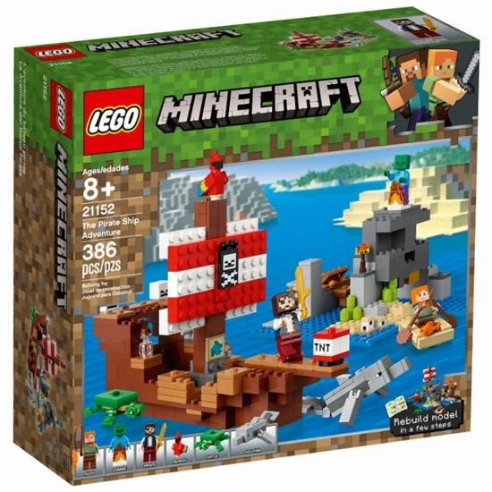 레고 마인크래프트 해적선 모험 (21152) (정품)